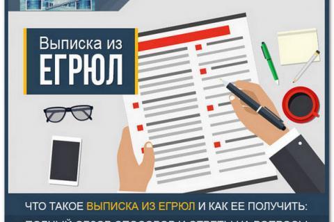Как получить выписку из ЕГРЮЛ? Инструкция с образцами необходимых документов