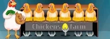 Chikens Farm игра с выводом