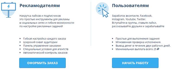 Исполнители и рекламодатели на VkTarget