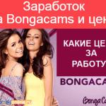 Заработок на Bongacams